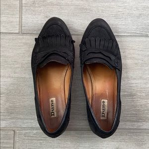 Black loafers - Dune from London